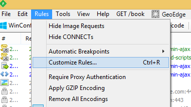 How To: Inject custom HTTP headers with Fiddler – Binary Notes